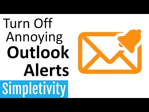 How to Turn Off Annoying Outlook Notifications