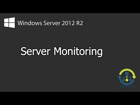 How to monitor server performance and activity on Windows Server 2012 R2 (Explained)