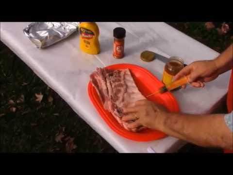 Chef Bourque's Holiday Deep Fried Pork Ribs