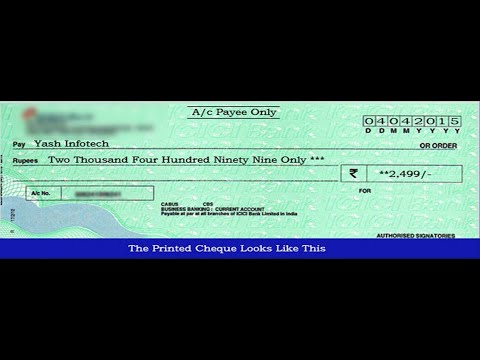 How to install Cheque Printing Software (Cheque Maker)