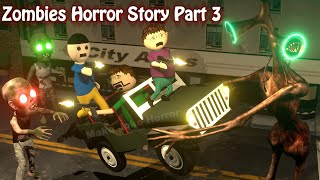Zombies Horror Story Part 3   Siren Head Game   Cartoon Movies   Best Animated Movies   3d Animation