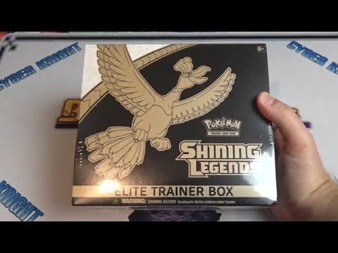 Pokemon Shining Legends Elite Trainer Box Opening