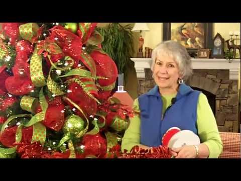 Deco Mesh Christmas Tree: A Sneak Peek- Nancy Alexander (edition 2016)