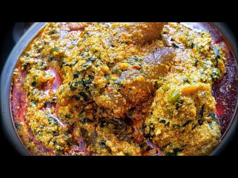 HOW TO MAKE EGUSI SOUP - NIGERIAN EGUSI SOUP RECIPE