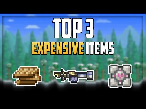 Top 3 Most Expensive Items in Terraria