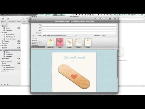 How to Delete Mail Stationery on a Mac : Tech Yeah!