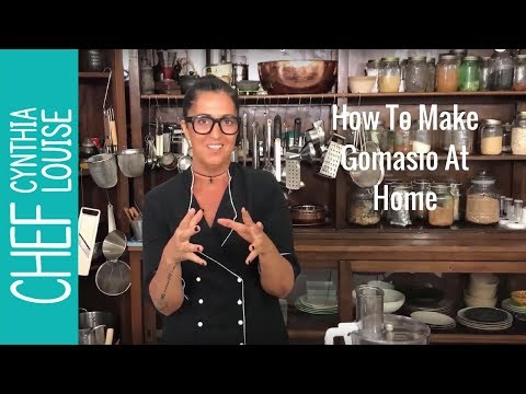 How To Make Gomasio At Home -  Toasted Sesame Salt Dressing