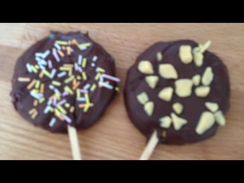 Make Tasty Chili Chocolate Cookie Lollipops - DIY Food & Drinks - Guidecentral