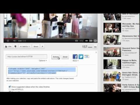 How To Embed Video In HTML Using YouTube Videos