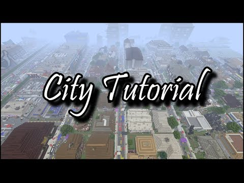 How to Build a City in Minecraft Tutorial