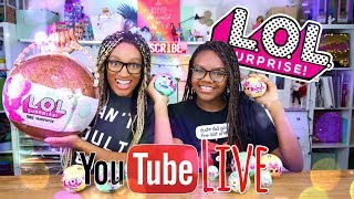 YouTube LIVE with the Froggy's | LOL BIG SURPRISE | Giveaways | Q&A | Updates & more