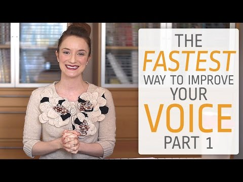 The fastest way to improve your singing voice - Part I