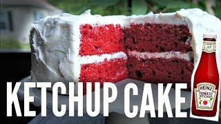 KETCHUP CAKE   Great Canadian Heinz   You Made What?!