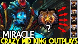 Miracle- [Storm Spirit] Mid King OutPlays Pub Game 23 Kills Fast Hands 7.22 Dota 2