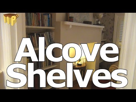 Alcove Shelves - 'Get Your Books Out'