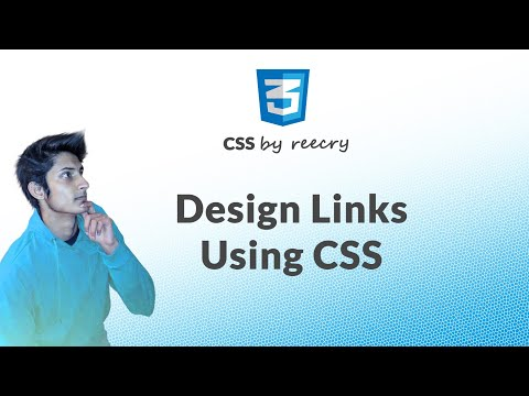 How to Style/Design Links Using CSS | Learn CSS in Hindi