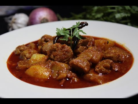 Soyabean Kosha - সয়াবিন কষা - Bengali Style Soyabean Curry