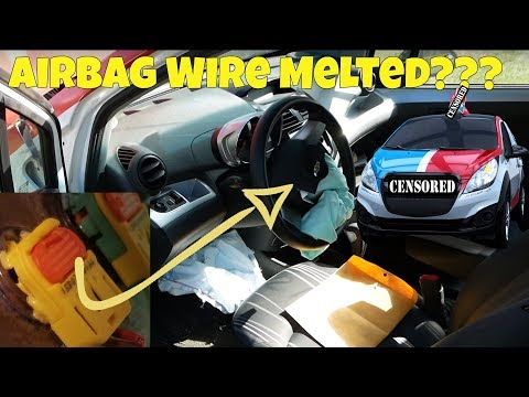 Domino's Pizza DXP Car Airbag Repair FAIL!