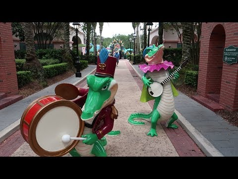 Disney's Port Orleans French Quarter Resort Tour | Hotel Grounds, Pool & Food Locations