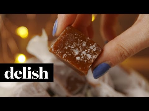 How To Make Salted Caramels | Delish