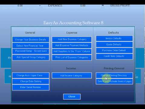 Setting Up Print Folders with EasyAs Accounting and Bookkeeping