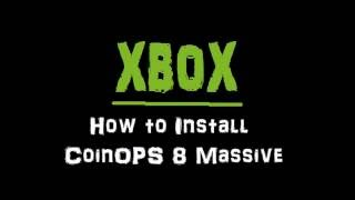 Original Xbox CoinOps 7 R4 Massive and Other Emu Demo - Over24,000