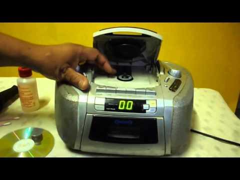 LIMPIAR LENTE OPTICO DE REPRODUCTOR CD Limpieza De Lector Optico De Radio Consejos Caseros