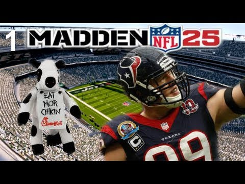 Madden NFL 25 Ultimate Team ep. 1: Playing my First Game