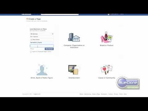 How to create a Facebook Page for Business | Company Facebook Page Tutorial