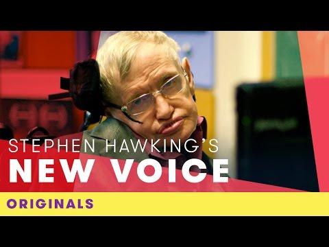 Stephen Hawking's New Voice   Comic Relief Originals