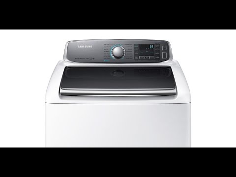 Inside a HE Samsung Washing Machine - MAX LOAD!!