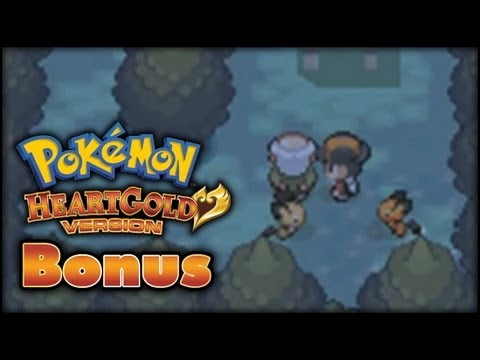Pokemon HeartGold Walkthrough Bonus - Pikachu Coloured Pichu Event