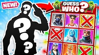 GUESS WHO *NEW* Game Mode in Fortnite Battle Royale