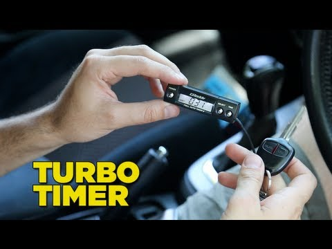 How To Install a Turbo Timer