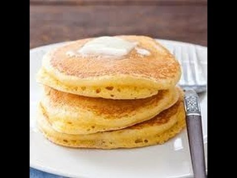 Fluffy Cornmeal Pancakes - The Best