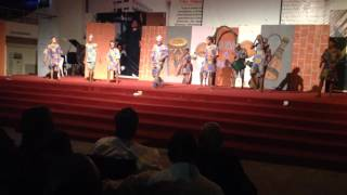 Leadcity University,ayanshina Khalid And His Group Performing At The Induction Prog,of Per Arts Dept