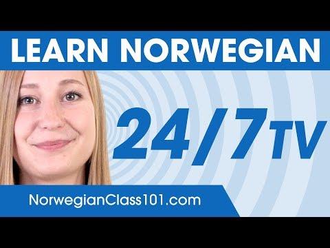 Learn Norwegian 24/7 with NorwegianClass101 TV