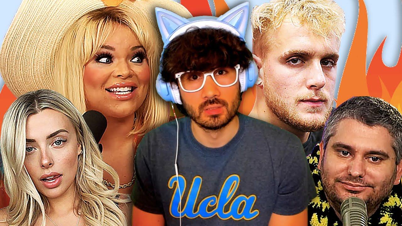 Trisha Paytas APOLOGIZES To Ethan Klein, Jake Paul GOES OFF On Me? Corinna Kopf ONLYFANS BACKLASH