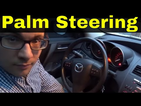 How To Steer A Car With The Palming Method-Beginner Driving Lesson