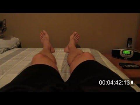 Restless Leg Syndrome - Time Elapsed Video