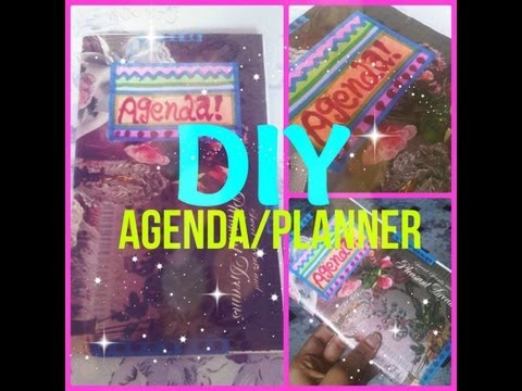 DIY Personalized Agenda Book