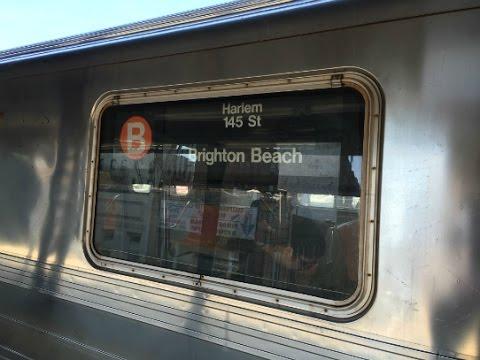 On-Board a Brighton Beach bound R68A (B) Train from Atlantic Av-Barclays Center to Brighton Beach