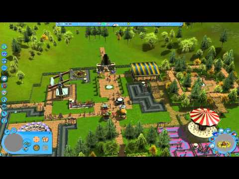 RollerCoaster Tycoon 3 - Vanilla Hills - The game crashed and It didn't save