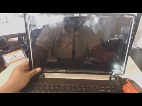 HP 15-f233wm Laptop LCD Screen Disassembly Repair Replacement Fix, Install Tutorial
