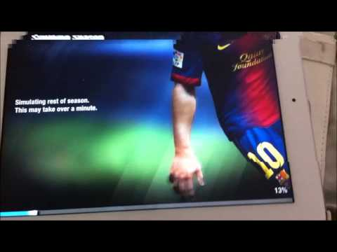 How to buy Messi on Fifa13 Manger mode on Ipad (HD)