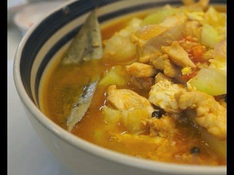 Paano magluto Ginisang Upo at Manok Recipe Pinoy Chicken Tagalog Filipino cooking