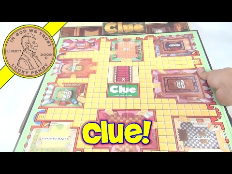 The Game Of Clue Family Board Game, 1986 Parker Brothers