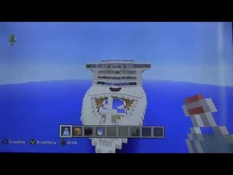 Minecraft Xbox One: Let's Build a Cruise Ship - Episode 1!