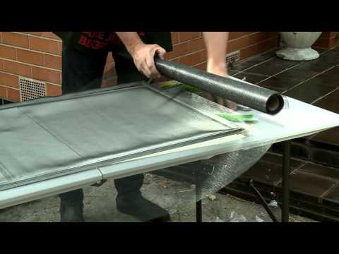How to Replace Flyscreens - DIY at Bunnings
