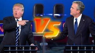Donald Trump vs. Jeb Bush | Presidential Debate Highlights